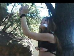 Milena Tied to a Tree