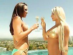 Rachel Starr & Madison Ivy Booty Shaking