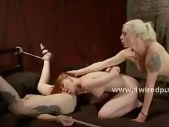 House mistress takes maid and forces her to submit to her lesbian