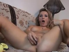 Andrea K. films herself naked