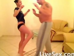 Fight training and sex
