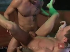 Sexy Arab Power Top Fucks Tight Bottom in a Club