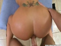 Christy Mack doggy style in slow motion.