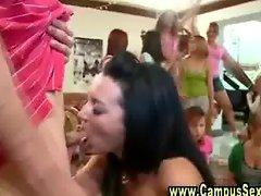 Wild partying teens get hot