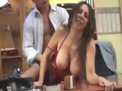Hot Arab Beurette Girl Gets Fucked By Boss On Desk