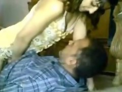 Arab naughty girl fucks old guy 2