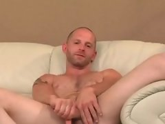 Martial Arts Fighter Storking his COCK