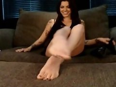 Kayla Janes Feet