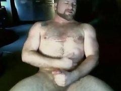 __Hot Cam Solo 12__ DILF cums growls loud