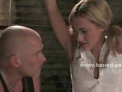 Watch this blonde sucking cock
