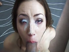 MILF Sarah Shevon slobbers on the cock  ,Sarah Shevon