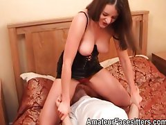 Rose Wood puts her pussy in a guys face