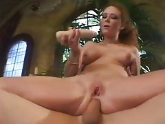 Natural Mature Audrey Hollander Takes Two Dic,Audrey Hollander