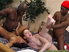 Double date turns into group sex