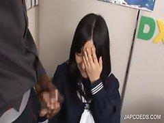 Asian horny pussy finger fucked