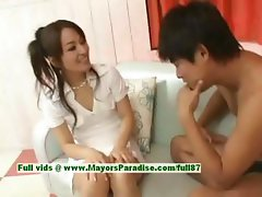 Miina innocent naughty asian girl gets pussy licked