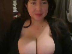 Sexy Busty BBW Huge tits :)
