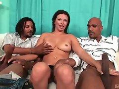 Hot bailey brooks sucks dick james and justin long's cocks
