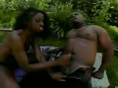 Big dick black boy fucks some nice hot ebony babe