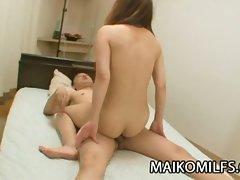 Mature japanese slut rina tachikawa exposing her hairy cunt
