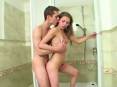 Amateur teen cuties kamila and marek hardcore drilling on camera