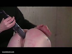 Slut gets spanked and punished