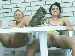 Pissing Lesbian Girls Sex Video