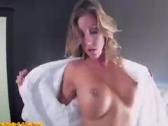 Samantha Saint takes a big cock in her hotel room