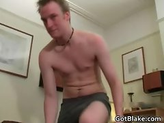 Ricky jerking off his amazing cock part5