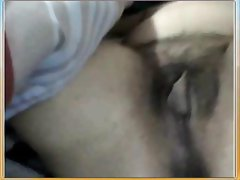 Tunisian girl is on her webcam showing off her pussy and teasing