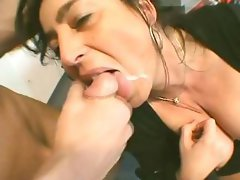 Young Guy Seduces A Busty Mom