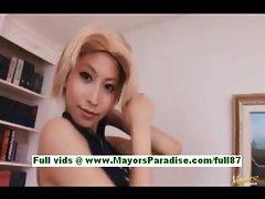 Yuki asuka mature asian girl at home
