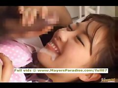 Miyu Hoshino innocent naughty asian girl enjoys a rear fucking