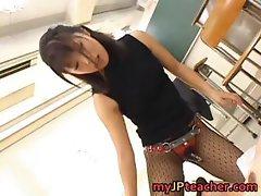 Bunko Kanazawa Naughty Asian teacher part5