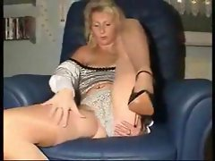 Horny French amateur housewife spreads her pussy for a fingering