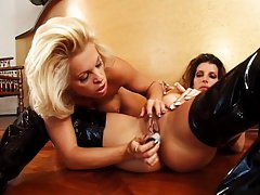 Two horny hotties enjoy their life