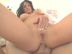 Tory Lanes gets her sexy pussy cracked by a massive cock