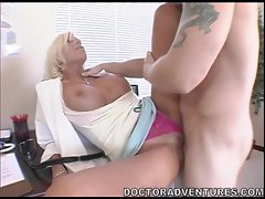 Busty whore Puma Swede gets her pussy thumped by a rock hard cock