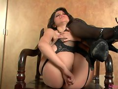 Hot babe Evie Dellatossa gets her big tits squeezed while being fucked