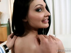 Sex in the Office with Aletta Ocean and Brandy Smile