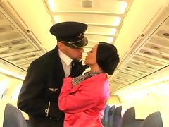 Valentina Velasques is a stewardess that love to have a anal threesome