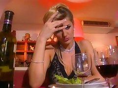 Nasty tramp Jane Darling orders cock deluxe of this restaurant menu