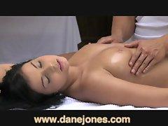 DaneJones Sensual massage for busty brunette