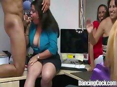Dancingcock Long Cock Office Orgy