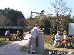 Free jav of Crazy Japanese bronze statue part1