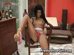 Super hot indian babe working on a big part5