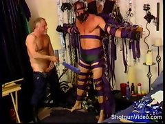 My gay lover tied me up with duct tape and punished me severely