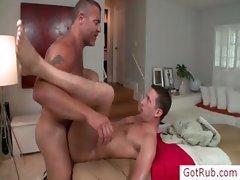 Dude gets internal massage part5