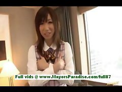 Yuu kosuge amateure japanese girl at home talking