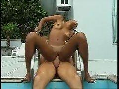 Amazing ebony Mickaella